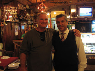 John K. and the proprietor of Mezget, an excellent restaurant in Kusadasi, Turkey