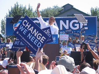 Change We Need Event for Barack Obama in Grand Junction on September 15, 2008