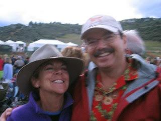 Nan and John at Jazz Aspen Snowmass 2008