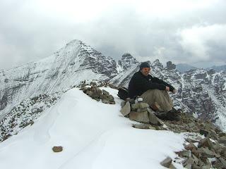 Sam on Castleabra Peak in September 2006