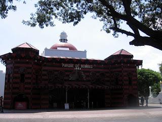 Parque de Bombas on Plaza las Delicias in Ponce, Puerto Rico
