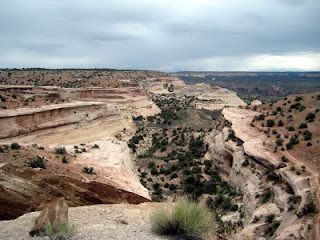 Kokopelli's Trail: Knowles Canyon overlook
