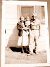 ~ My Great grandmother and Grandfather on my Mother\