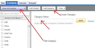 How To Create Category In Email Address Book