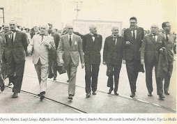 Enrico Mattei, Luigi Longo, Raffaele Cadorna, Ferruccio Parri, Sandro Pertini, Riccardo Lombardi, F