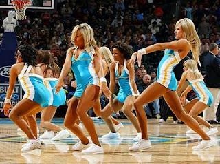 new orleans hornets cheerleaders dancers