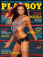 wwe diva maria kanellis playboy cover