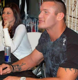 randy orton married to samantha speno autograph show