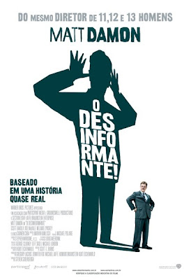 Filme Poster O Desinformante BDRip RMVB Legendado
