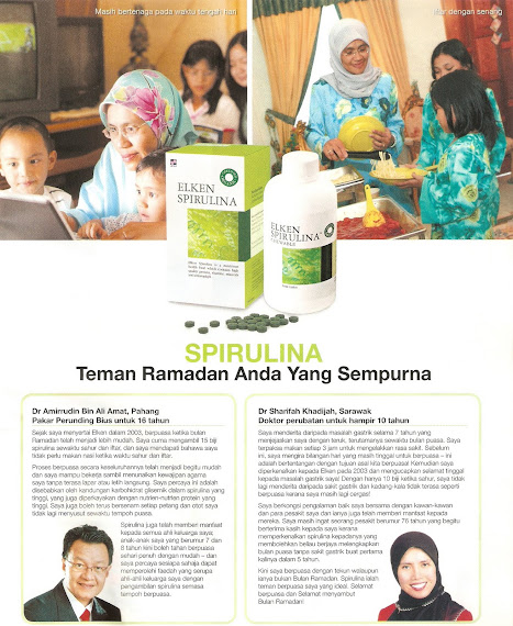 SUPPLEMENT ON RAMADHAN - ELKEN SPIRULINA