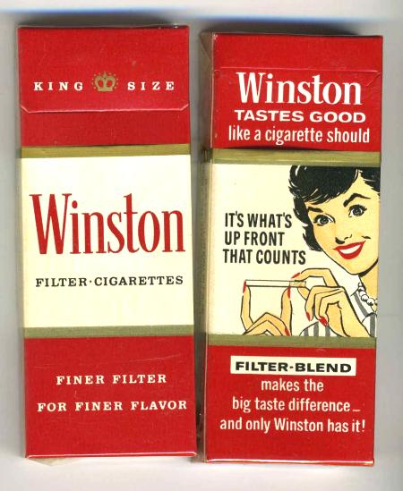 Winston cigarette coupons