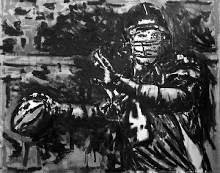 Quarterback, Quarteracks, football images, football art, Brett Favre