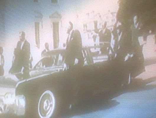 agents on limo 1961