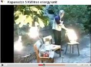 Kapanadze 5 KW free energy unit