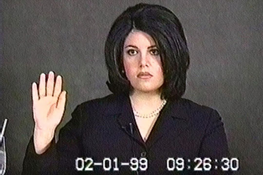 monica lewinsky and bill clinton. monica lewinsky