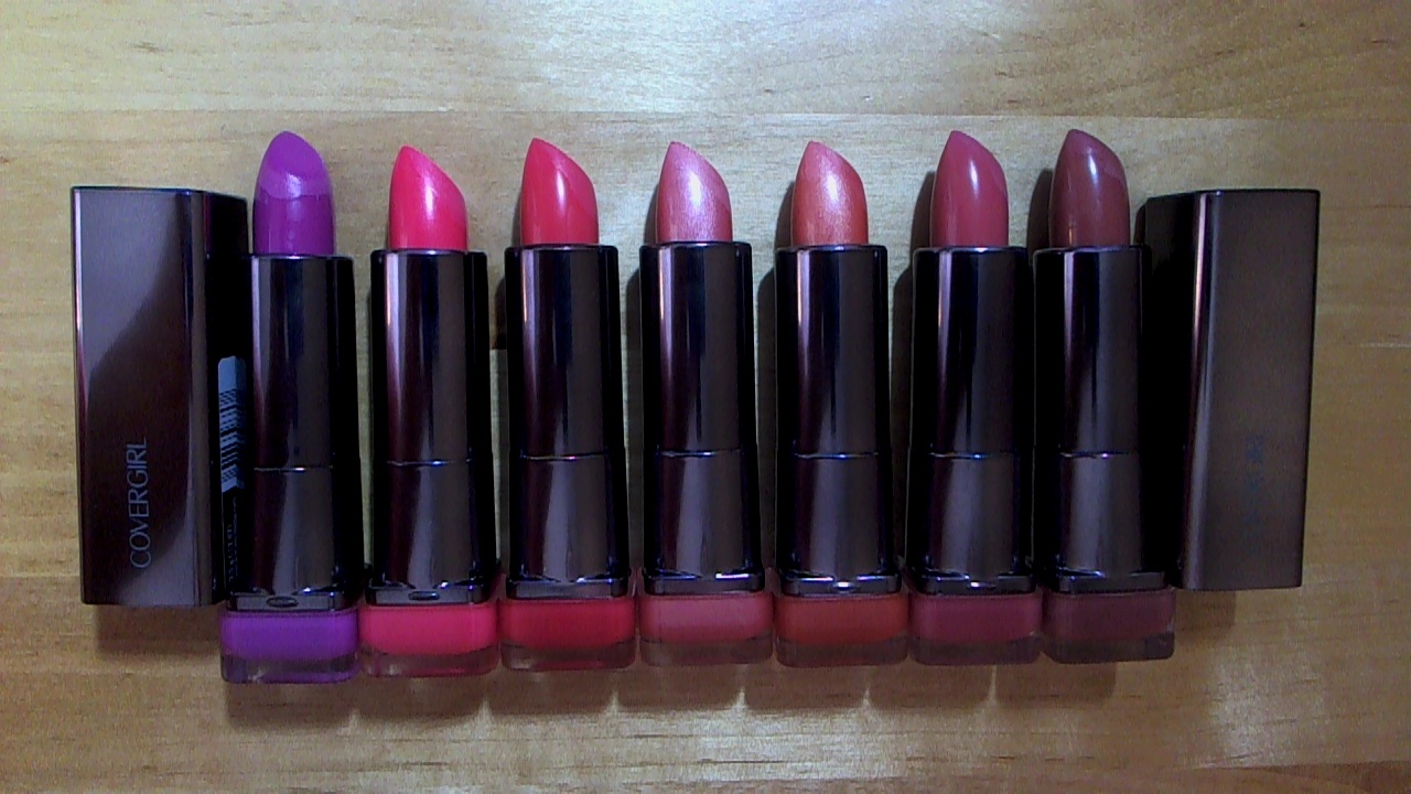 GinaBinaWina99: Cover Girl Lip Perfection Lipstick Review & Swatches