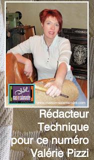 Valerie pizzi tapissier et redactrice technique