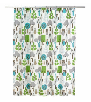 Owls Sky Shower Curtain By Rosenberry Rooms For $66 Available At Amazon.