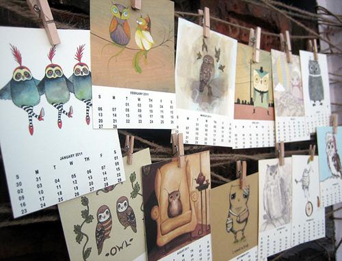 Owl Lover 2011 Calendar