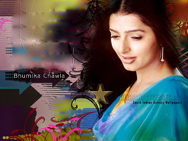 bhumika wallpapers. Bhumika Chawla is the beauty