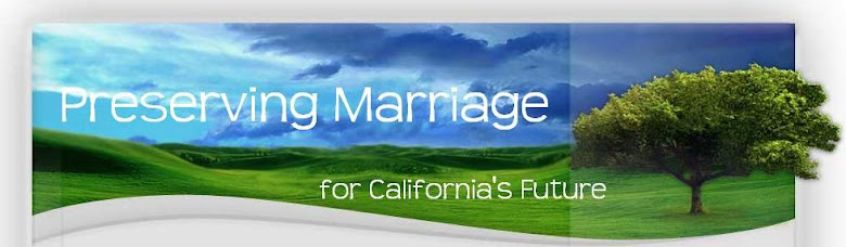 Preserving Marriage for California&#39;s Future