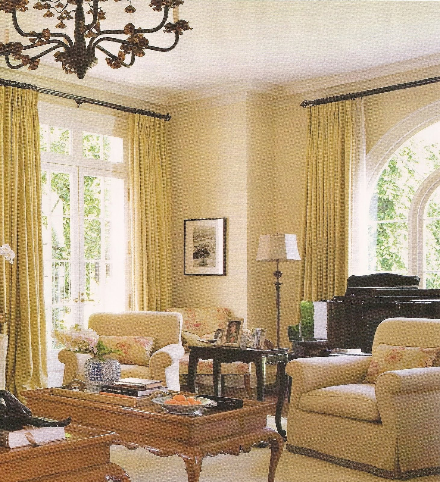 Acanthus and Acorn: Drapery Rods: What\'s In Style?