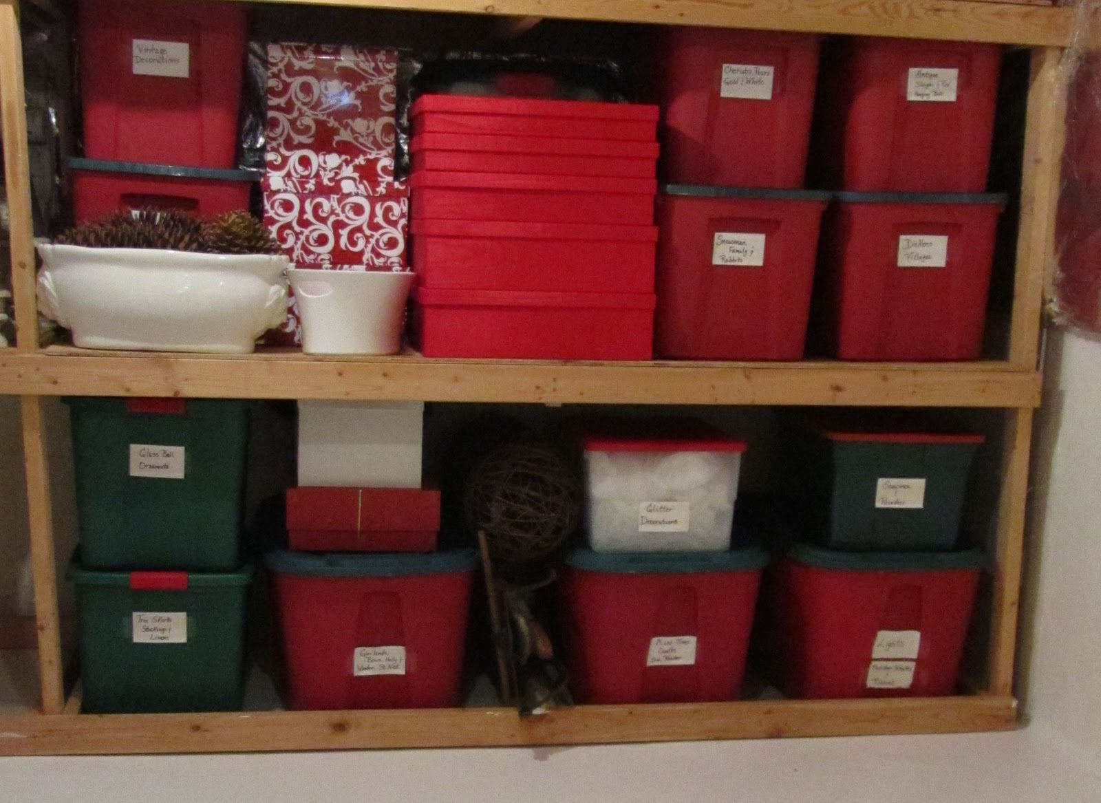 Storage And Organization Solutions For Your Holiday Decorations!