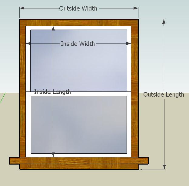 Window sizes narrow window sizes for Narrow window