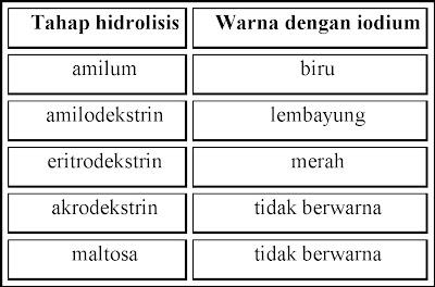 tahap+hidrolisis+amilum Laporan Biokimia Karbohidrat (Biochemistry)
