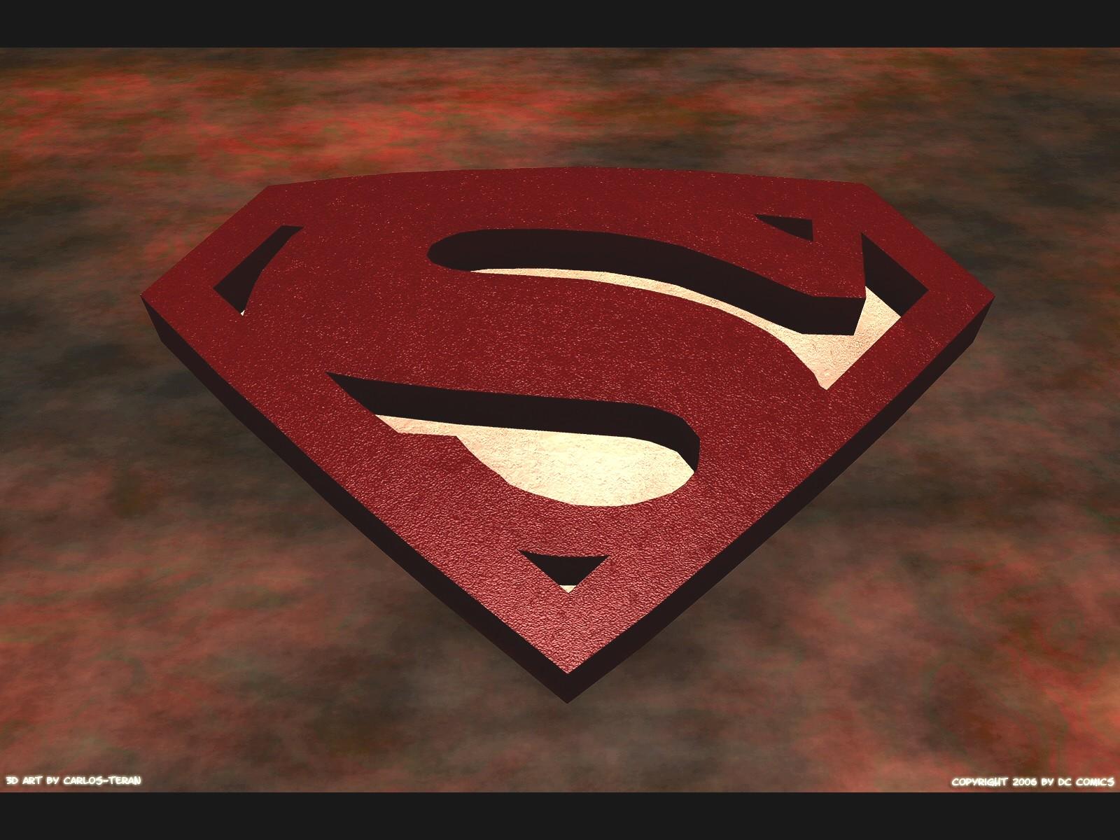 Superman symbol Wallpaper