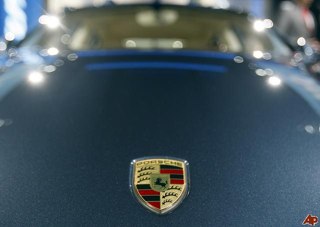 Porsche logo badge