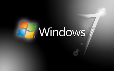 windows 7 logo wallpaper black and white ultimate background desktop