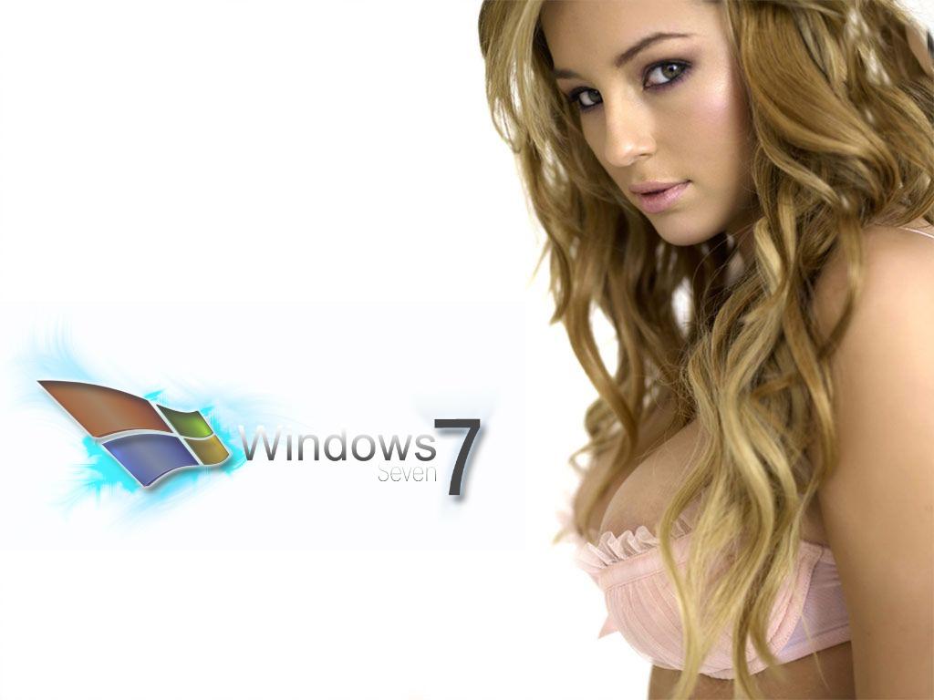 Logo Amp Logo Wallpaper Collection Windows Seven 7 Logo