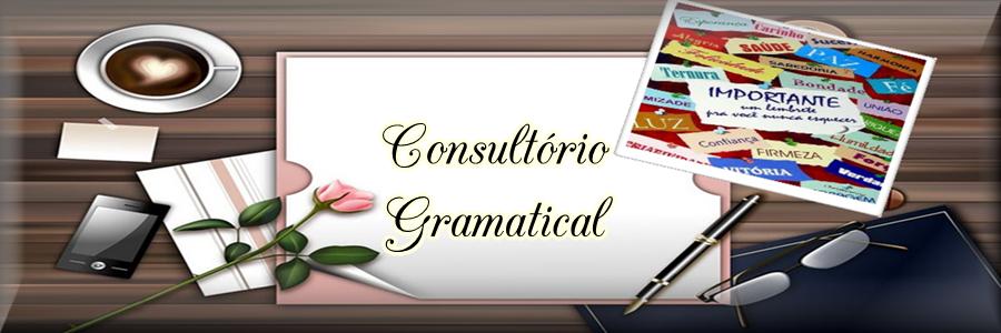 Consultório Gramatical