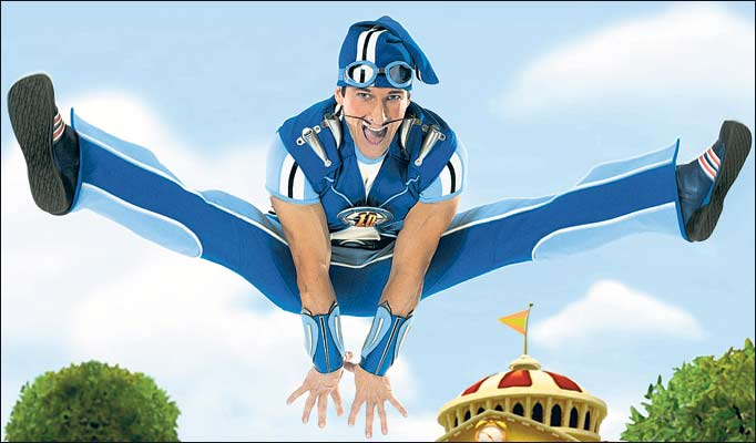 Gay Sportacus From Lazy Town