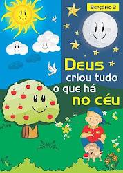Revista 3- Berçário- Vem com cartazes e atividades.