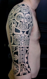 Shoulder Maori Tribal Tattoos For Men 5