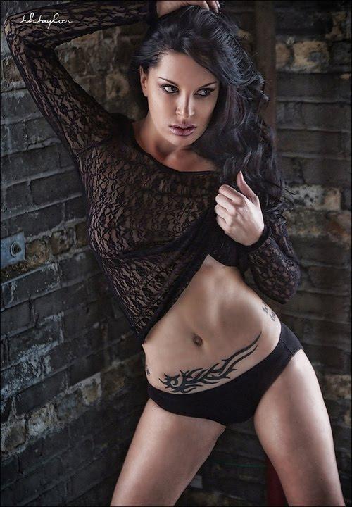 Choosing tribal stomach tattoo woman