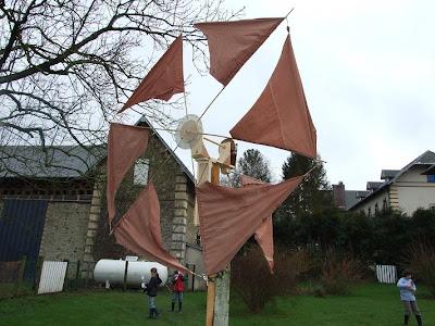 Sortie la ferme de d 39 jo - Fabrication d une eolienne ...