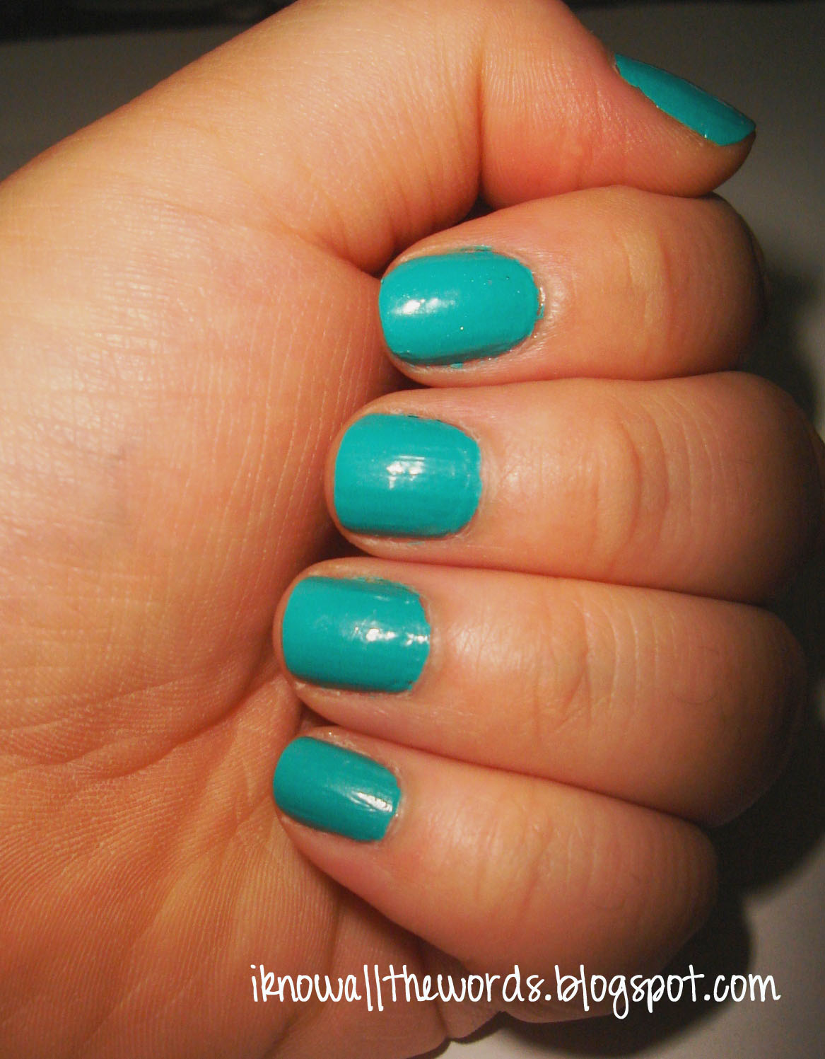 Franken Nail of the Day | I Know all the Words