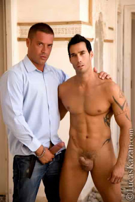 two buddies jerking off for fun