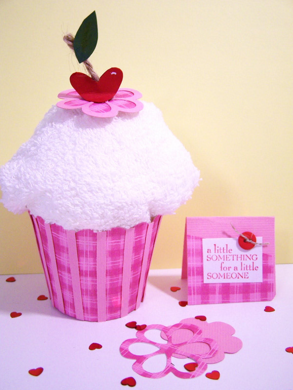 Kitchen Towel Craft Sincerely Babette Dish Towel Cupcake