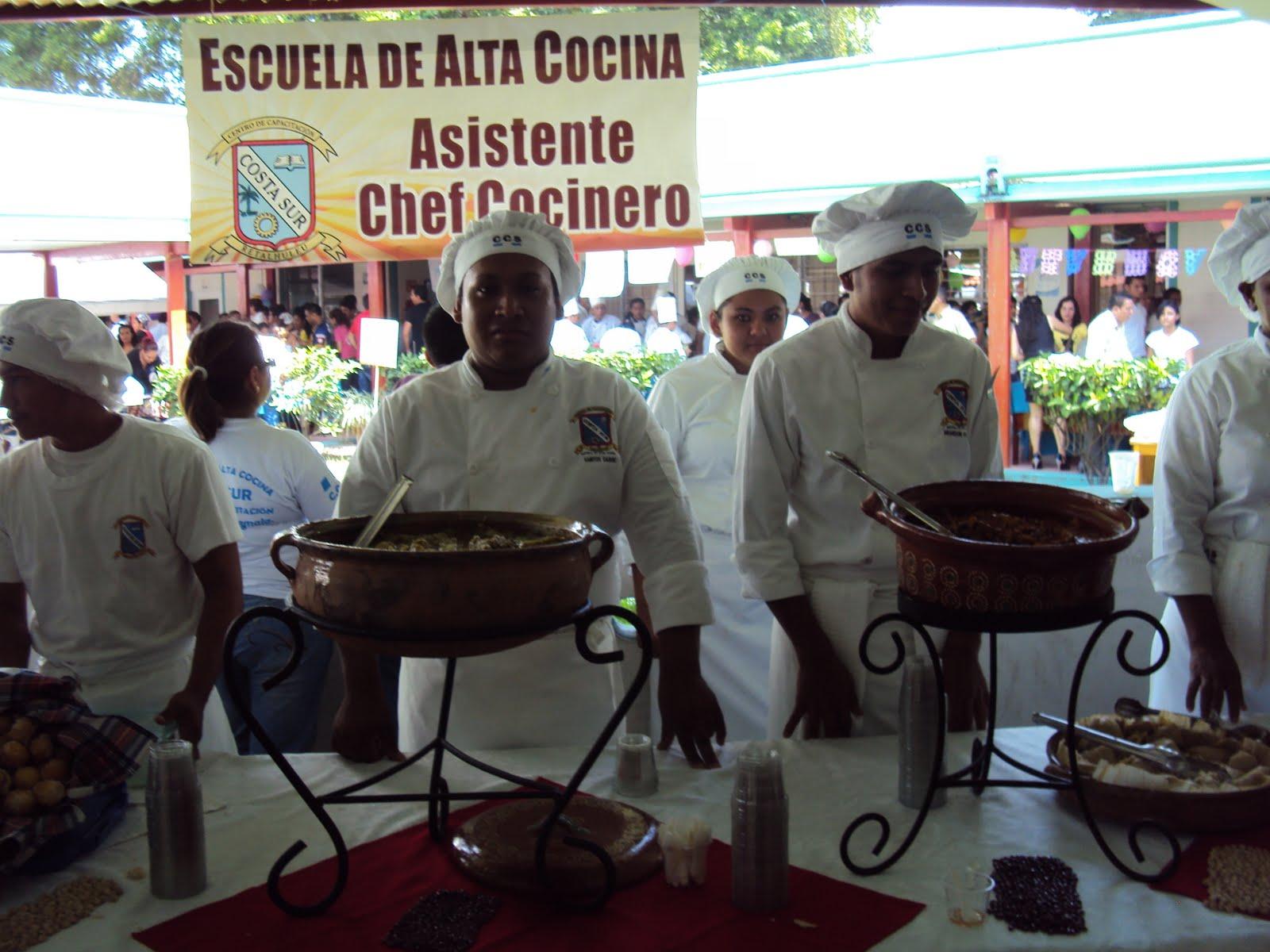 Iesch tapachula escuela de alta cocina de guatemala for Escuela de cocina