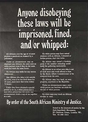 African Activist poster