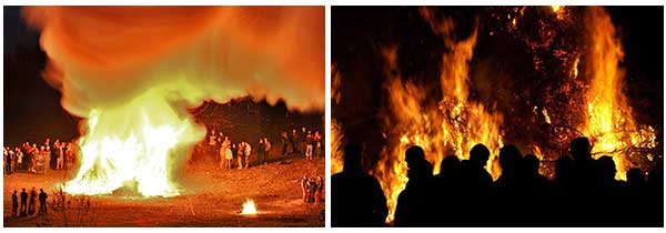 Easter Bonfires in Germany