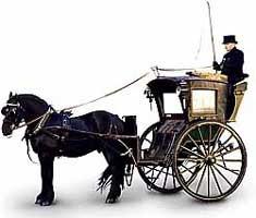 Horsedrawn cab