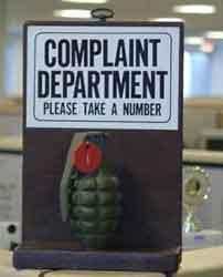 departamento de quejas