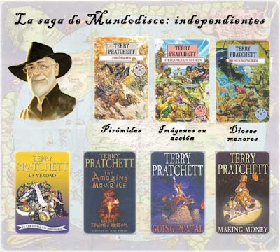 Independent Discworld novel