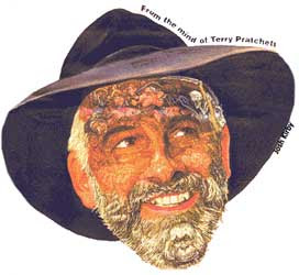 Terry Pratchett by Josh Kirby