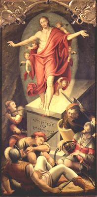 Gaspar de Palencia.La Resurrección de Cristo. XVI